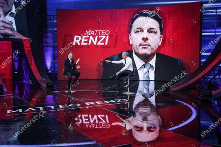 Editorial photo of 'Non e l'Arena' TV show, Rome, Italy - 17 Jan 2021