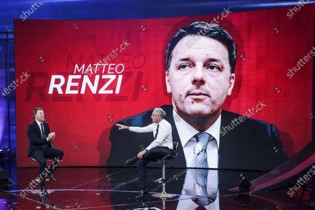 Editorial picture of 'Non e l'Arena' TV show, Rome, Italy - 17 Jan 2021