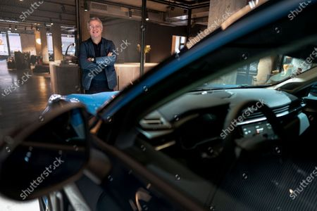 Alain Visser, CEO of Lynk & Co a digital-native sister brand to Volvo Cars, at the company's new premises in Gothenburg, Sweden