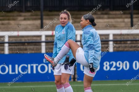 Editorial photo of Crystal Palace v Durham - FA Women's Championship, Hayes Lane, UK - 17 Jan 2021