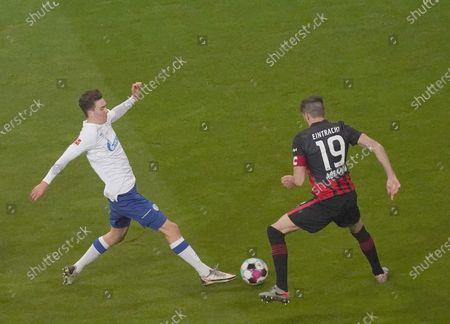 Matthew Hoppe (Schalke), David Abraham (Frankfurt)
