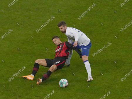 Andre Silva (Frankfurt), Matija Nastasic (Schalke)