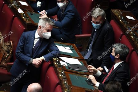 Editorial photo of Government crisis in Italy, Rome - 18 Jan 2021