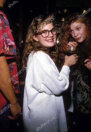 Drew Barrymore With Khrystyne Haje 1987