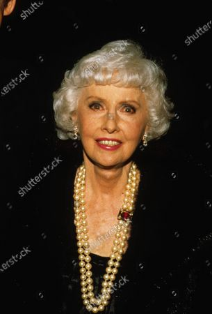 Stock Picture of Barbara Stanwyck 10/28/1985