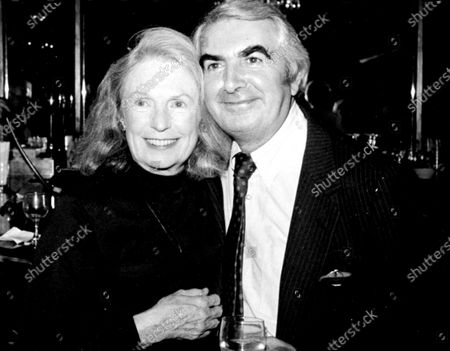 Geraldine Fitzgerald And Milo O'Shea At The Premiere Of Mass Appeal