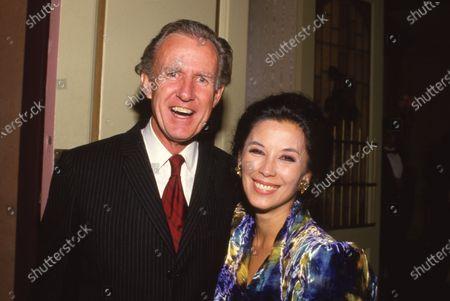 Bernard Judge and France Nuyen Circa 1990