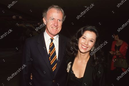 Bernard Judge and France Nuyen Circa 1989