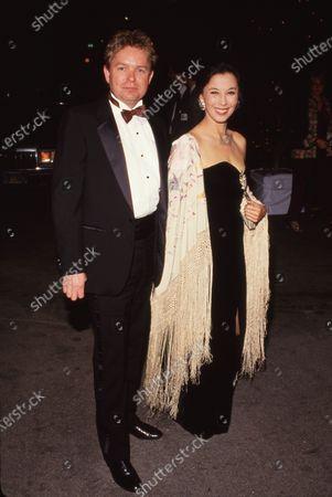 Warren Weideman and France Nuyen Circa 1986