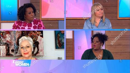 Charlene White, Linda Robson, Denise Welch and Judi Love