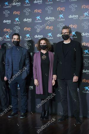 Dani Rovira, Ana Belen, Mariano Barroso