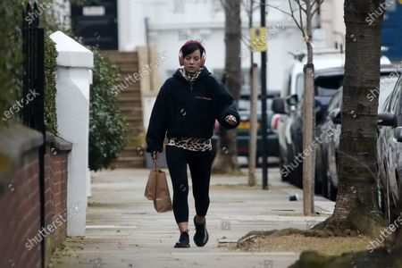Stock Photo of Lily Allen out and about