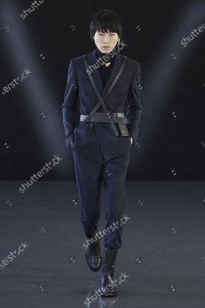 Editorial picture of Menswear, winter 2021 - 2022, Milano, Milan, Italy - 18 Jan 2021