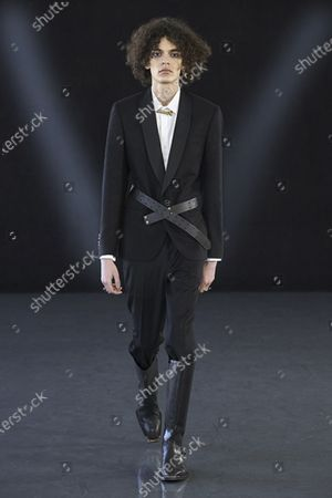 Editorial photo of Menswear, winter 2021 - 2022, Milano, Milan, Italy - 18 Jan 2021