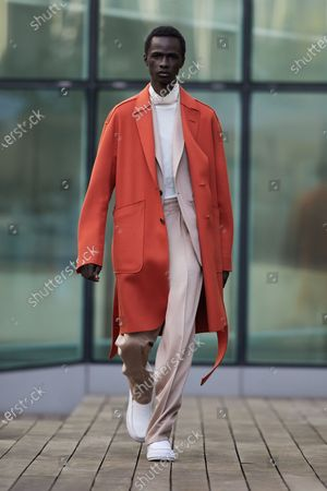 Editorial picture of Menswear, winter 2021 - 2022, Milano, Milan, Italy - 18 Jan 2021