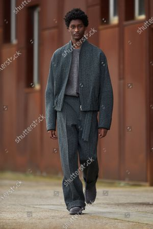 Editorial image of Menswear, winter 2021 - 2022, Milano, Milan, Italy - 18 Jan 2021
