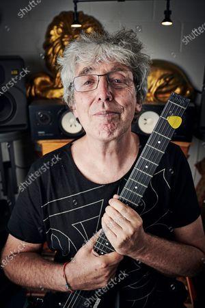 Editorial photo of Steve Hillage Portrait Shoot, London, UK - 18 Sep 2019