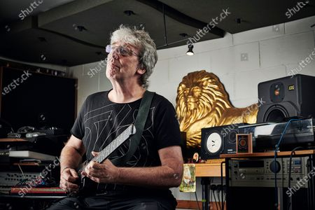 Editorial image of Steve Hillage Portrait Shoot, London, UK - 18 Sep 2019