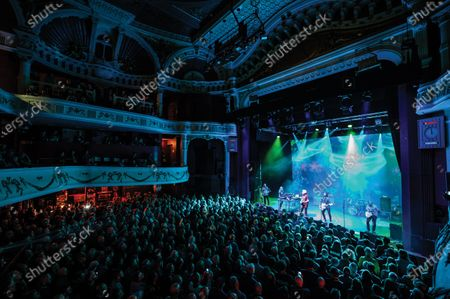 Progressive rock group The Steve Hillage Band performing live on stage at the O2 Shepherd's Bush Empire in London, on June 8, 2019. (Photo by Kevin Nixon/Prog Magazine)