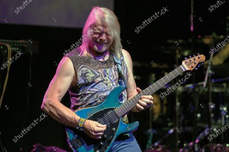 Guitarist Steve Morse of American progressive rock group Flying Colors performing live on stage at the Ventura Theater in Ventura, California, on September 5, 2019. (Photo by Matt Quina/Prog Magazine)