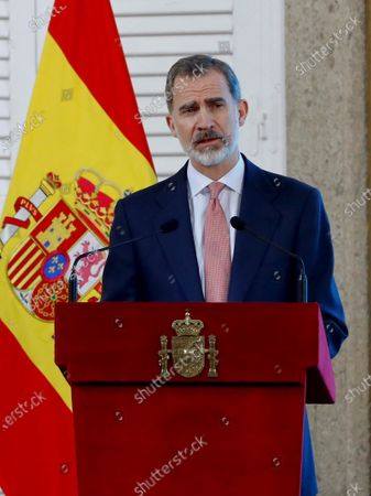 King Felipe VI attends meeting with the Executive Council of the World Tourism Organization, Madrid