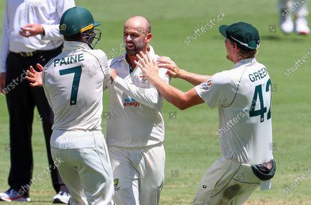Editorial picture of India Cricket, Brisbane, Australia - 19 Jan 2021