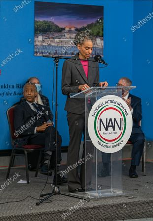 NYC Mayoral candidate Maya Wiley at Dr. Martin Luther King Day Celebration at National Action Network