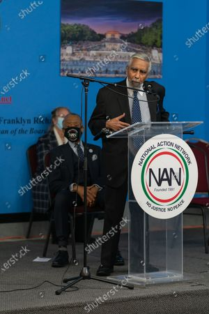 Charles Rangel at Dr. Martin Luther King Day Celebration at National Action Network