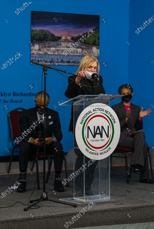 Carolyn Maloney at Dr. Martin Luther King Day Celebration at National Action Network