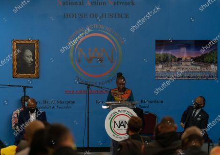 NYC First Lady Chirlane McCray at Dr. Martin Luther King Day Celebration at National Action Network