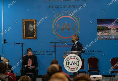 Reverend Al Sharpton at Dr. Martin Luther King Day Celebration at National Action Network