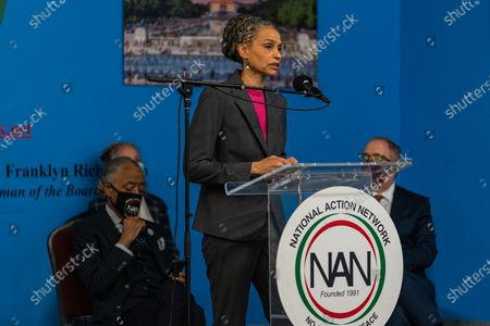 NYC Mayoral candidate Maya Wiley joins Dr. Martin Luther King Day Celebration at National Action Network
