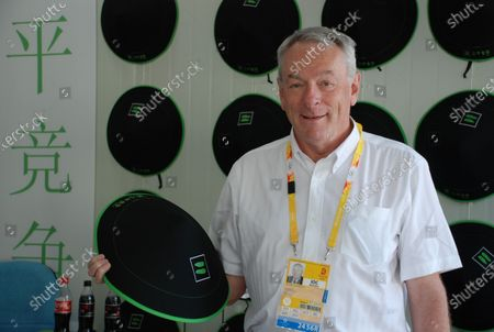 Richard Dick Pound, The first President of WADA The World Anti Doping Agency who has retired