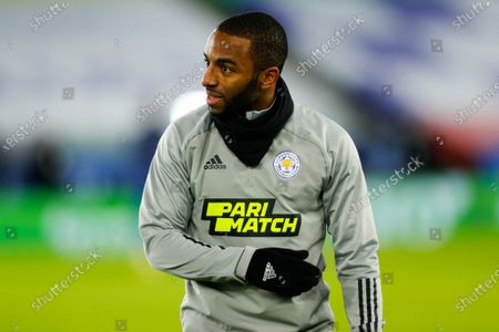 Ricardo Pereira of Leicester City during the pre-match warm-up; King Power Stadium, Leicester, Midlands, England; English Premier League Football, Leicester City versus Chelsea.
