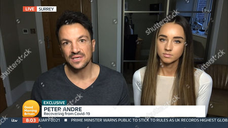 Stock Picture of Peter Andre and Emily MacDonagh