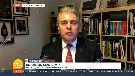 Stock Picture of Brandon Lewis