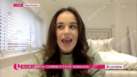 Editorial photo of 'Lorraine' TV Show, London, UK - 19 Jan 2021