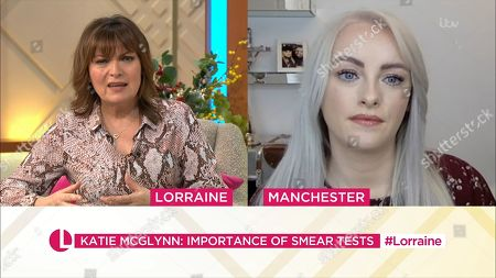 Lorraine Kelly and Katie McGlynn