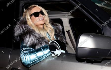 Editorial picture of Exclusive - Paris Hilton and Carter Reum skiing, Big Sky Resort, Montana, USA - 16 Jan 2021