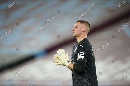 Stock Image of West Bromwich Albion goalkeeper Sam Johnstone