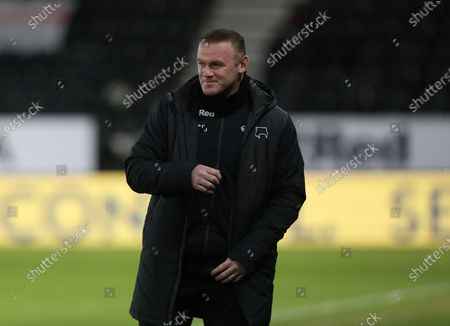 Editorial picture of Derby County v AFC Bournemouth, EFL Sky Bet Championship, Football, Pride Park Stadium, Derby, UK - 19 Jan 2021