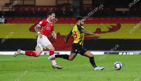 Editorial image of Watford v Barnsley, EFL Sky Bet Championship, Football, Vicarage Road, London, UK - 19 Jan 2021
