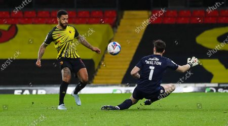 Editorial picture of Watford v Barnsley, EFL Sky Bet Championship, Football, Vicarage Road, London, UK - 19 Jan 2021
