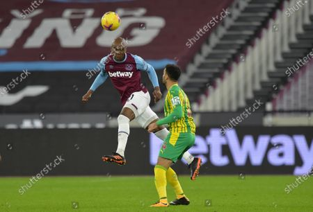 Angelo Ogbonna of West Ham United in action