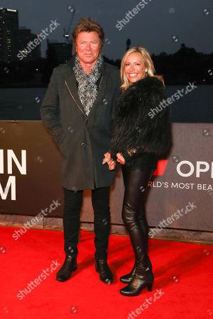 Stock Photo of Richard Wilkins and Nicola Dale