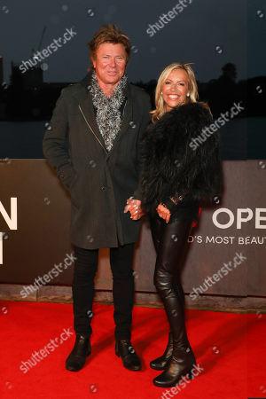 Richard Wilkins and Nicola Dale