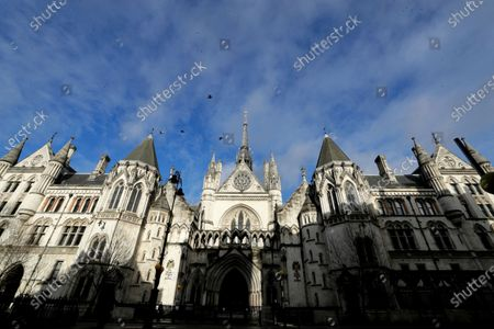 The Royal Courts Of Justice, in London, . Meghan, The Duchess of Sussex will ask a High Court judge to rule in her favour in her privacy action against the Mail on Sunday over the publication of a handwritten letter to her estranged father. The case will be heard remotely due to the pandemic