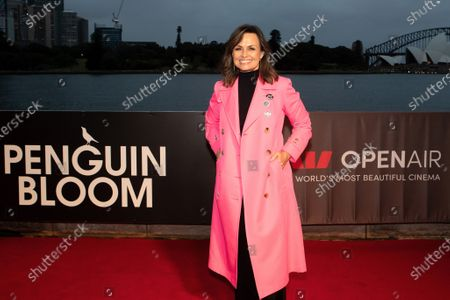 Stock Picture of Lisa Wilkinson walks the red carpet.