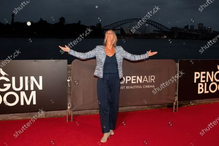 Editorial photo of 'Penguin Bloom' film premiere, Arrivals, Westpac OpenAir, Sydney, Australia - 19 Jan 2021
