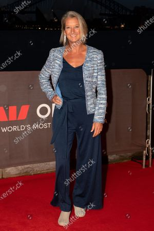 Stock Picture of Layne Beachley walks the red carpet.